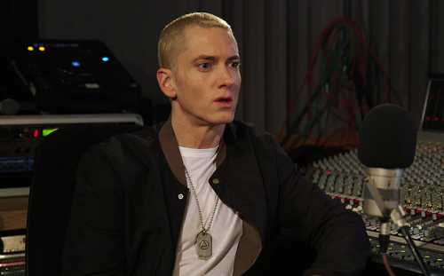 Eminem says he's been using gay hook-up app Grindr to find love